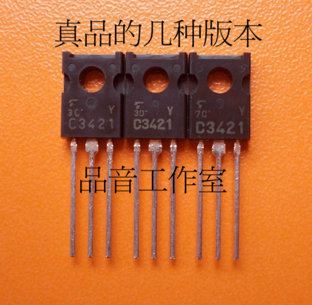 10pcs TOSHIBA 2SC3421-Y TO-126 Transistor C3421-Y Audio Power <font><b>Amplifier</b></font> C3421 Y Medium power <font><b>tube</b></font> 2SC3421 120V 1A <font><b>10W</b></font> image