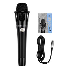 Cardioid Condenser Vocal Microphone Metal Structure 3-pin XLR to 3.5mm TRS for Karaok Singing Stage Live Streaming Podcast(China)