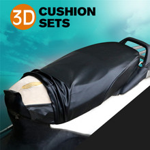1PC Waterproof Motorcycle Sunscreen Seat Cover Prevent Bask In Scooter Sun Pad Heat Insulation Cushion Protect