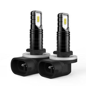 2x H27W/2 881 светодиодный светильник, противотуманный светильник s для автомобилей, светодиодный противотуманный фара, высокий светильник, авто...