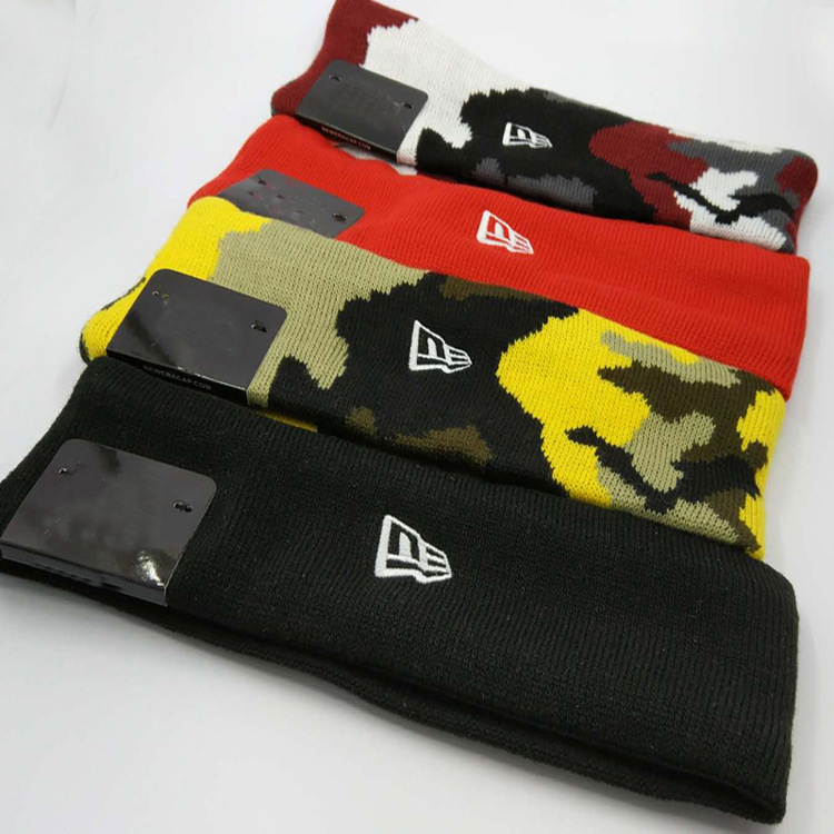 Jacquard Headband Brooklyn Camouflage Headscarf Reflective Logo Headband Sports Hair Band