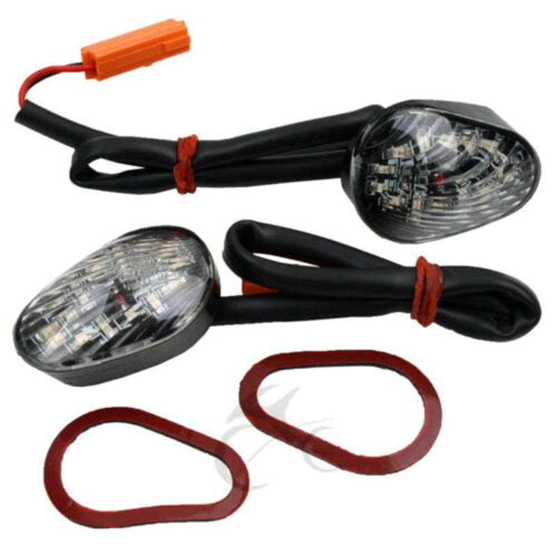 Motorcycle Clear Flush mount LED Turn Signal For Honda CBR600RR 03-08 CBR1000RR 2004-2008 2005 2006 2007