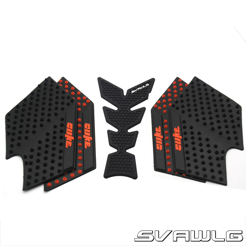 2019 New Decal Motorcycle Parts Tank Traction Side Pad Gas Fuel Knee Grip Decal For KTM <font><b>DUKE</b></font> 125 200 390 with logo <font><b>Duke</b></font> image
