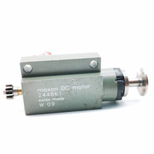 Used Switzerland maxon coreless motor 12-24V Miniature hollow cup carbon brush motor 136645/244861(China)