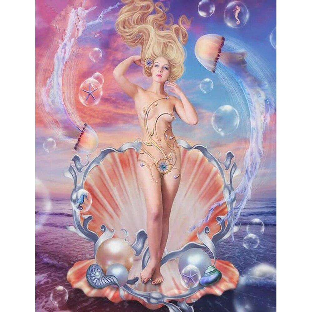 aphrodite goddess painting - HD794×1059