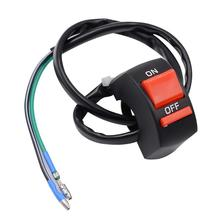 Snowmobiles-Handle-Bar Light-Switch Scooter Hazard Universal with ATV Ce Male Terminal