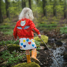 Autumn Winter Children Jackets For Girls Boys Coat Embroider