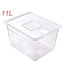 Sous Vide Container Steak Machine Container with Lid Water Tank Bath for Circulator Sous