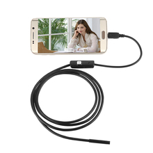 720P USB Endoscope Camera Mini USB Camera Waterproof Inspection Borescope Camera With 6 Led For Windows Macbook PC Android Phone 8 7 5 5mm lens 720p usb android endoscope camera inspection endoscope led light waterproof borescope camera for android phone pc