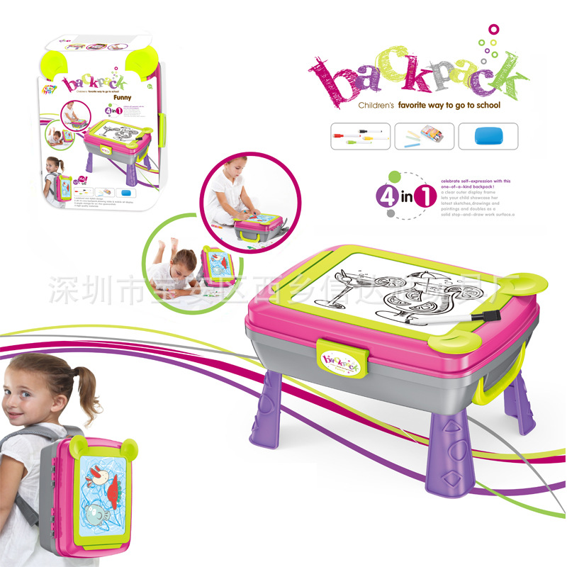 Multi-functional CHILDREN'S Drawing Board Plastic Toy CHILDREN'S Early Childhood Educational Baby Double-Sided Magnetic Drawing