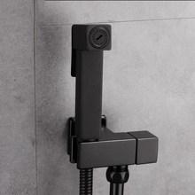 Vidric, смеситель для унитаза, биде, квадратный, черный, одиночный, холодный, для ванной, для туалета, для душа, распылитель, насадка, смеситель для биде, для ванной комнаты, Hardw
