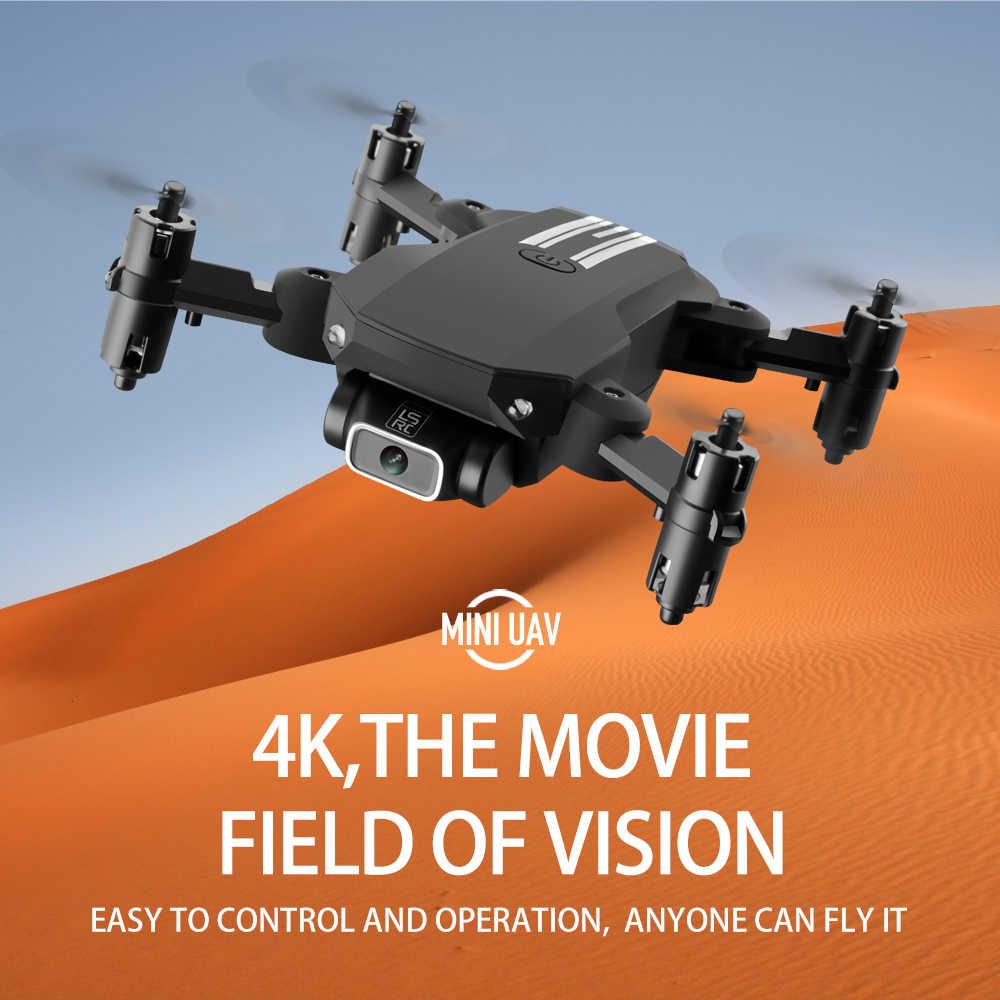 طائرة صغيرة بدون طيار مع كاميرا 4K HD واي فاي FPV قابلة للطي متابعة الارتفاع عقد ثلاثية الأبعاد تقلب RC هليكوبتر الطائرات لعب الأطفال في المنزل درون