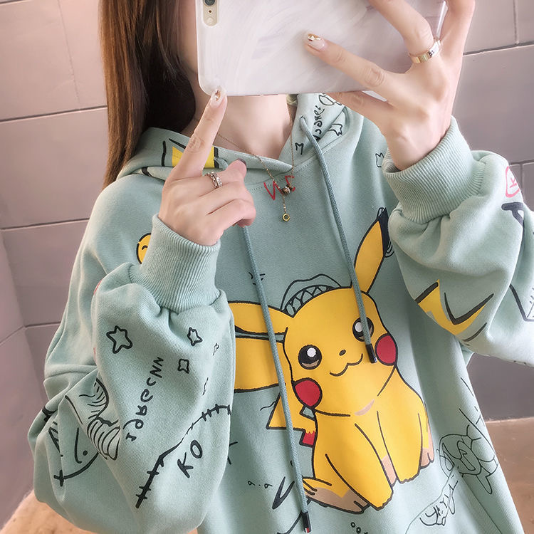 Harajuku Pikachu Hoodie 2