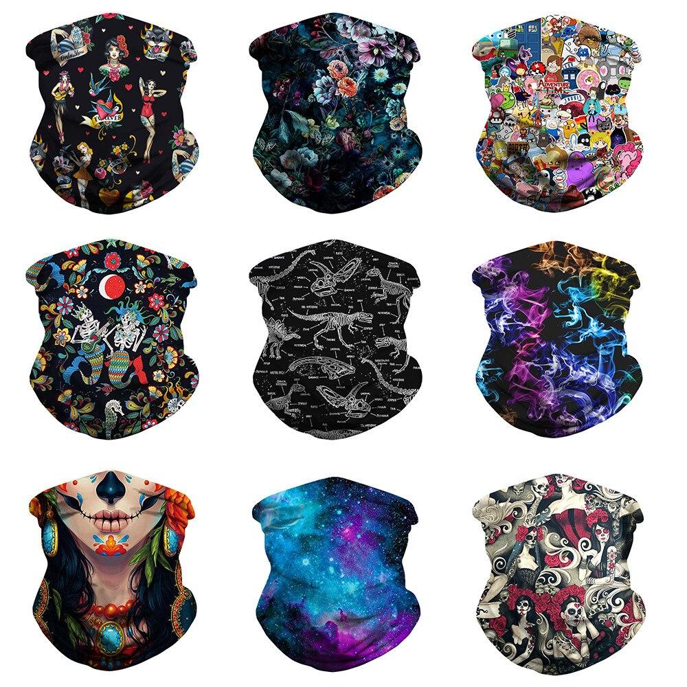 Быстрая доставка, 3D Бандана с цветочным рисунком, Защита рта, пыленепроницаемый шарф, моющийся, для улицы, бандана, для пешего туризма, шеи, гетры, шарфы с цветочным принтом|Шарфы|   | АлиЭкспресс