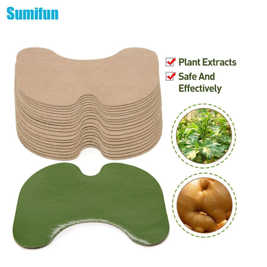 Sumifun 12Pcs Two Styles Knee Plaster Wormwood Extract Knee Pain Joint Rheumatoid Arthritis Chinese Herbal Medical Patch