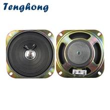 Tenghong 2pcs 4 Inch Portable Audio Speaker 8Ohm 3W Full Range Speaker Unit For Keyboard Broadcast Car Audio Loudspeaker 102MM