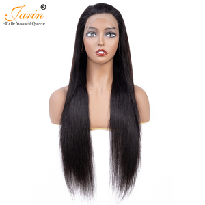 Image 4 - Jarin 13x4 Lace Front Human Hair Wigs Brazilian Straight Human Hair Wigs 30 inch Lace Frontal Wig Pre Plucked With Baby Hair