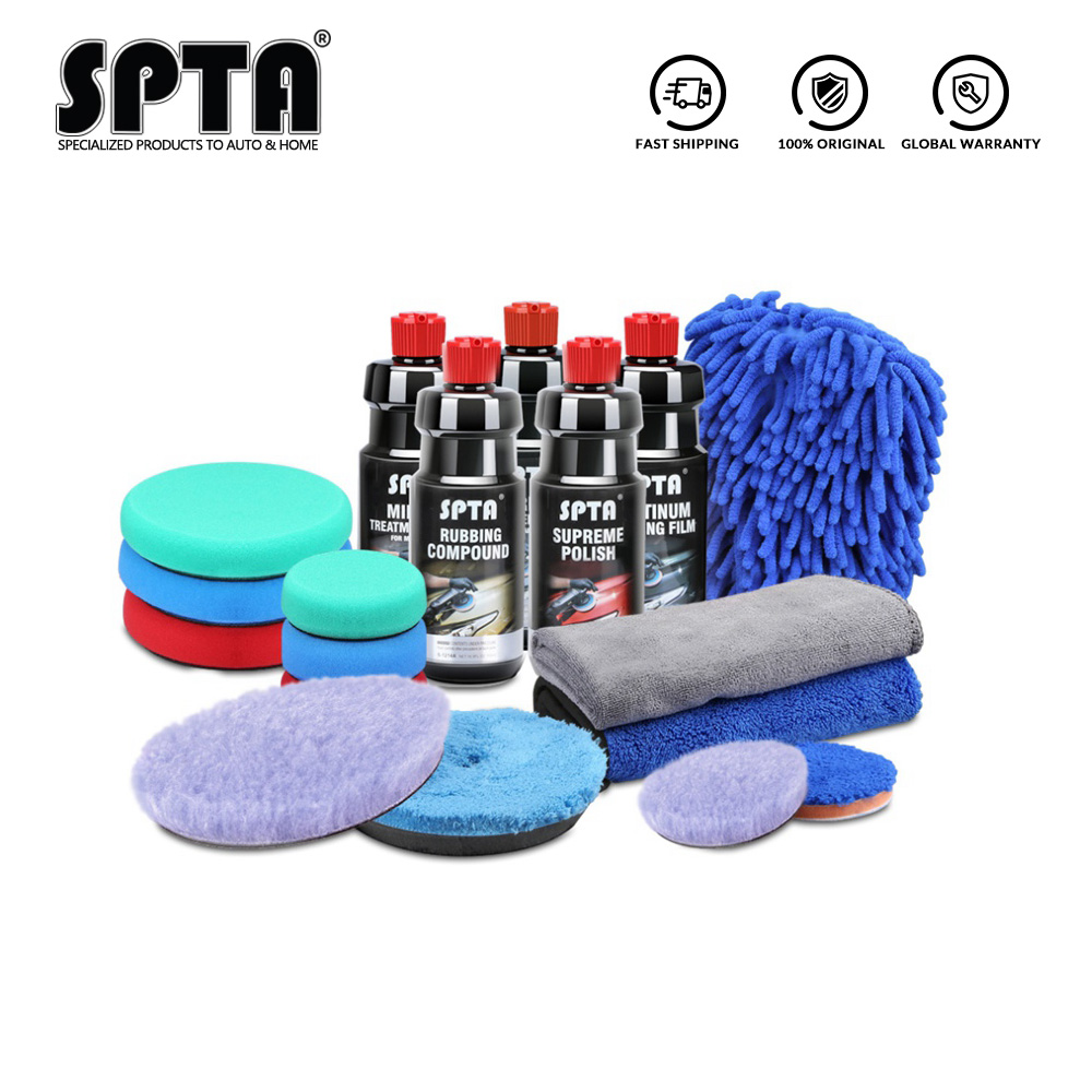 SPTA 120ml/500ml Polishing Paste Auto Paint Scratche Removal Abrasive Rubbing Compound Car Polishing Glazing Gringding Paste