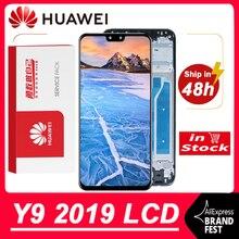 100% Được Kiểm Tra 6.5 10 Cảm Ứng Màn Hình LCD Huawei Y9 2019 Màn Hình LCD Bộ Số Hóa Cảm Ứng Cho JKM LX1 JKM LX2 JKM LX3 Mô Hình