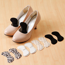 Heel stickers 4D Soft memory foam Foot Care Tool New Sticky Fabric Shoe Back Inserts Insoles Pads Cushion Liner Grip Pad