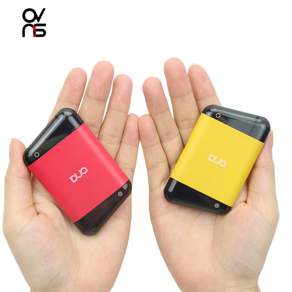 Clearance Original Ovns Duo Pod Kit Built-in 400mah Battery With 2ml Cartridge Vape Pen Kit Colorful Electronic Cigarette Vapor