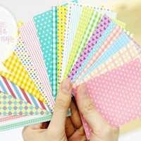 20 hojas de adhesivos para decoración de fotos polaroid Pastel pegatina para marco de foto DIY multifunción nota art deco