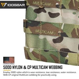 Image 3 - IDOGEAR Bolsa de Triple revista, 5,56 Mag, bolsa abierta superior, Airsoft, equipo militar, juego de guerra, bolsas tácticas para revistas, 3526