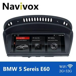 Image 1 - Navivox Android 10.0 Car GPS Radio For BMW 5/3 Series E60 E61 E63 E64 E90 E91 E92 CCC CIC Car Multimedia Player BMW E60 Android