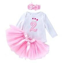 Платье на 2 года и день рождения, одежда для маленьких девочек, наряды на 2-й день рождения и новый год, летние платья, платье на выпускной для ...