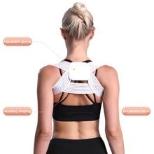 Fitness Spine Posture Corrector Breathable Protection Back Shoulder Correction Band Adjustable Humpback Pain Brace