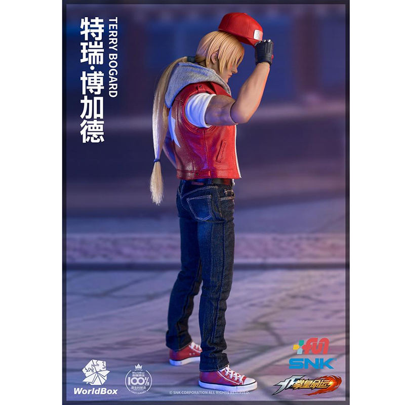 Escala 1//6 WorldBox KF009 King Of Fighters Terry Bogard-Jeans