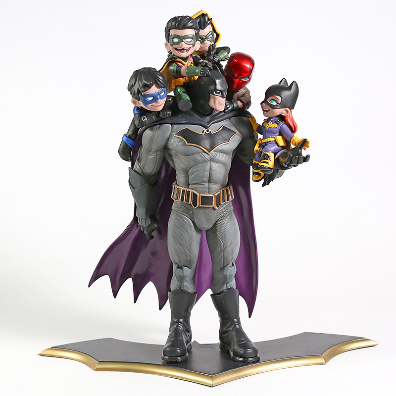 DC Comics Batman Family Q-Master Diorama Statue PVC Figure Collectible Model Toy