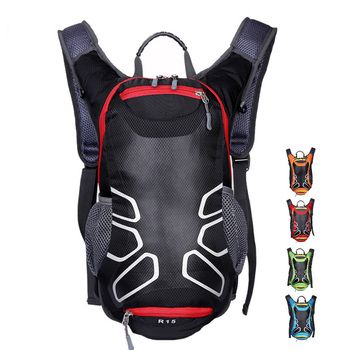 цена Outdoor MTB Bicycle Riding Bag Bike Climbing Hiking Backpack Ski Backpack Outdoor Sport Bag Running Cycling Water Bag Men Women онлайн в 2017 году