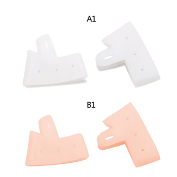 2 Pcs Gel Silicone Toe Thumb Bunion Pain Relief Straighteners Separators Tools 2019 image