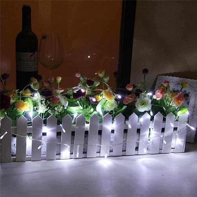 クリスマスライトホリデー照明/道路装飾 2 メートル 20 LED バッテリ駆動ライト弦 (ウォームホワイト)