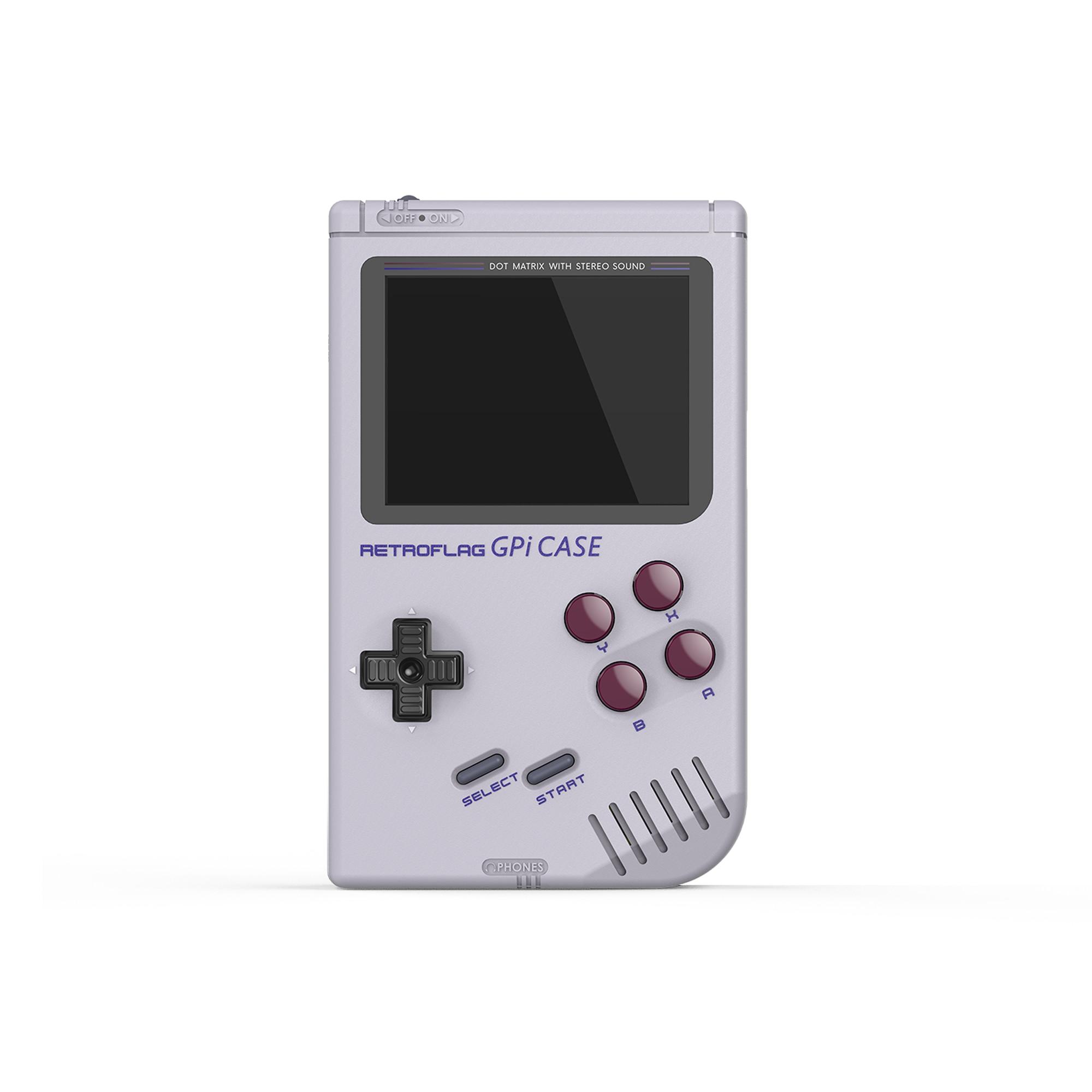 Original Retroflag GPi CASE Kit For Raspberry Pi Zero / Zero W Safe Shutdown Portable Handheld Game Console