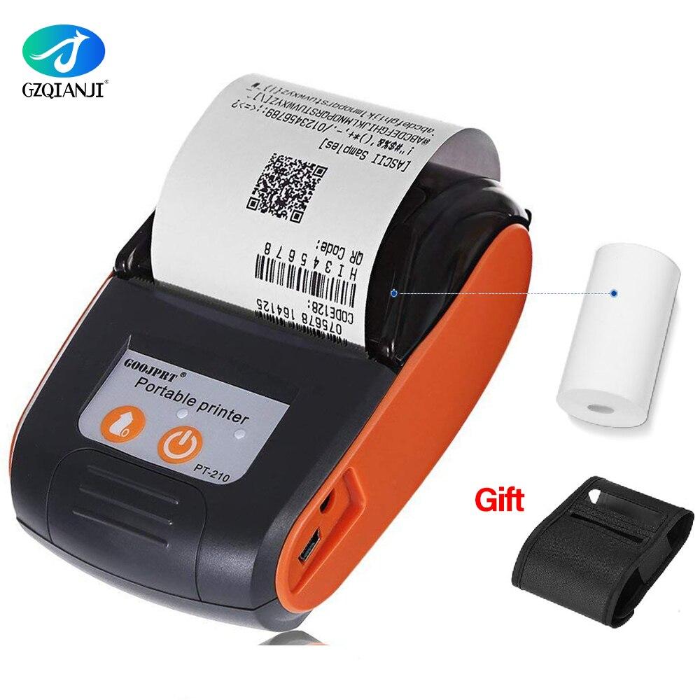 POS 58mm Bluetooth Thermal Receipt Printer Mini Portable Android IOS Mobile POS Printers Free SDK For Window Android IOS Printer