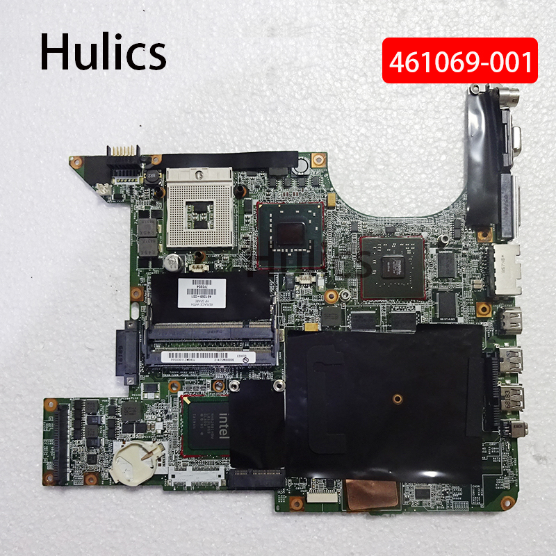 Hulics Original For HP Pavilion Dv9000 DV9500 DV9700 461069  461069-001 Motherboard Notebook