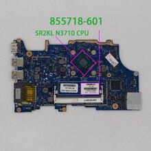 855718 601 855718 001 UMA w N3710 CPU pour HP pavillon x360 14 a 15 a 11 u série ordinateur portable ordinateur portable carte mère