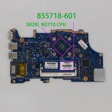 855718 601 855718 001 uma w n3710 cpu para hp pavilion x360 14 a 15 a 11 u série notebook computador portátil placa mãe