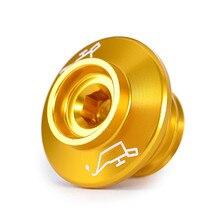 M19x2.5 CNC korek wlewu oleju dla Honda CBR600F CBR600F CBR650F CBR125R CBR250R CBR300R CBR500R CBR600RR CBR900RR CBR1000RR