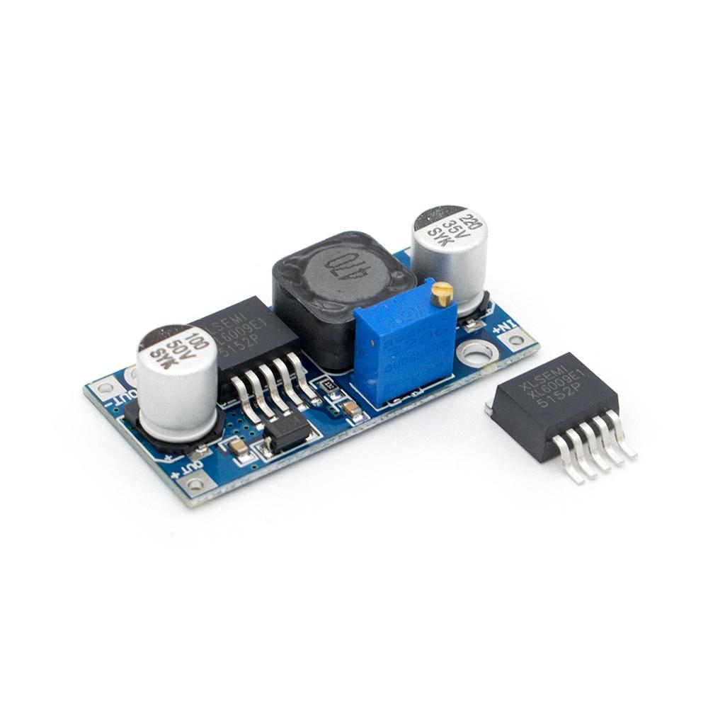 1pcs DC-DC Adjustable Step-up Boost Power Converter Module XL6009 Replace LM2577