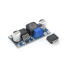 1 pces DC-DC ajustável step-up boost power converter módulo xl6009 substituir lm2577