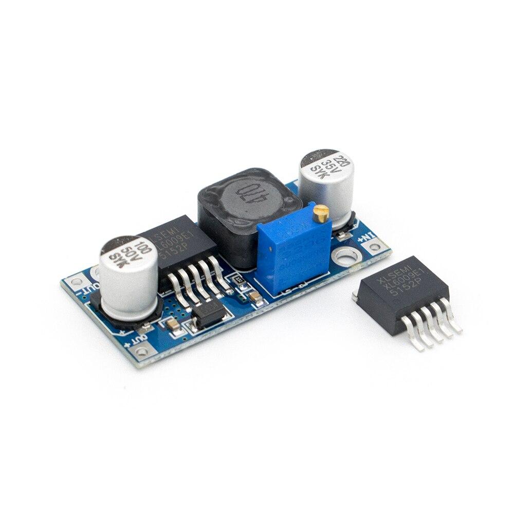 10 un XL6009 DC Ajustable Step Up Boost Módulo Convertidor de corriente reemplazar LM2577