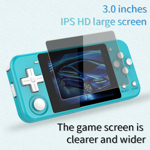 """Image 4 - Q90 Handheld Video Game Console Retro Games 3 """"HD IPS Screen Kids Gift 16 Simulator Support PS1 3D games Open Source Dual System"""