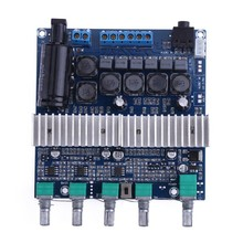 Tpa3116 Subwoofer Amplifier Board 2.1 Channel High Power Bluetooth 4.2 Audio Amplifier Board Dc12V-24V 2x50W+100W(China)