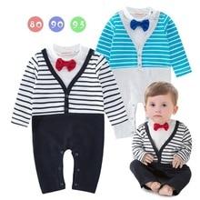 Новинка года; сезон осень-весна; детские комбинезоны; одежда с длинными рукавами для новорожденных мальчиков и девочек; Детский комбинезон хлопок; одежда для малышей