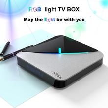 A95X F3 Air RGB Light Android 9.0 Smart TV Box 2.4G/5G WifI