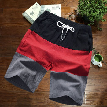 Mens Shorts Casual Shorts Men Drawstring Printing male 2020 Streetwear Summer Fashion Cool  Men Shorts High Waist Beach Outwear men embroidery detail drawstring waist shorts