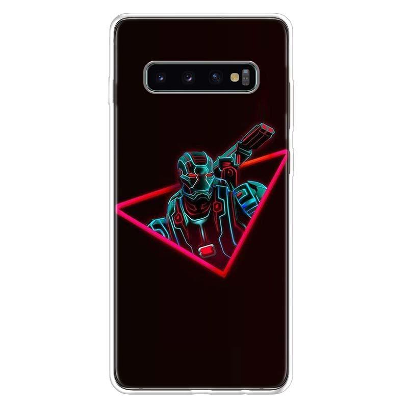 Marvel Avengers Endgame Iron Man Thanos Case for Samsung Galaxy S10 S20 Ultra Lite NOTE 10 9 8 S9 S8 + S7 Edge J4 J6 J8 2018 Plu